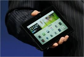 BlackBerry PlayBook In Hand
